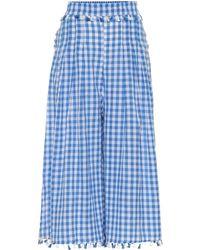 Dodo Bar Or - Pantalones de algodón cuadros vichy - Lyst