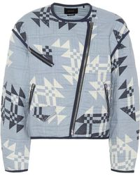 Isabel Marant - Lazel Quilted Cotton Jacket - Lyst
