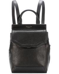 Rag & Bone - Small Pilot Leather Backpack - Lyst