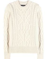Isabel Marant | Gayle Baby Alpaca And Merino Wool-blend Knitted Sweater | Lyst