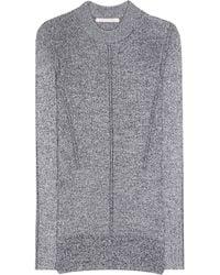 Christopher Kane - Metallic Knitted Sweater - Lyst