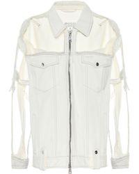 Maison Margiela - Deconstructed Denim Jacket - Lyst