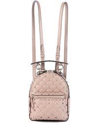 Valentino - Garavani Rockstud Spike Leather Backpack - Lyst