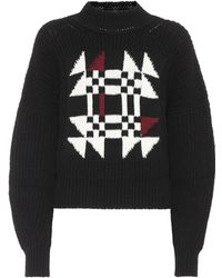 Isabel Marant - Lawrie Cotton And Wool-blend Sweater - Lyst