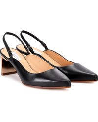 Gabriela Hearst - Elisabeth Leather Slingback Court Shoes - Lyst