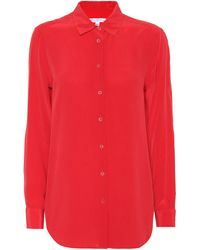 Equipment - Camisa de seda Essential - Lyst