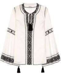 Talitha - Embroidered Blouse - Lyst
