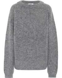 Acne Studios - Dramatic Wool-blend Sweater - Lyst