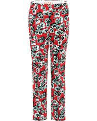 Marni - Poetry Flower Cropped Trousers - Lyst