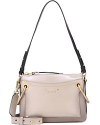 Chloé - Small Roy Patent Leather Shoulder Bag - Lyst