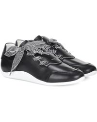 Roger Vivier - Sporty Viv' Etiquette Sneakers - Lyst
