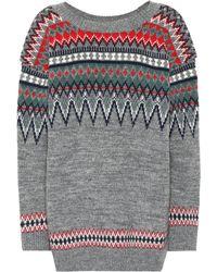 Junya Watanabe - Pullover aus einem Wollgemisch - Lyst