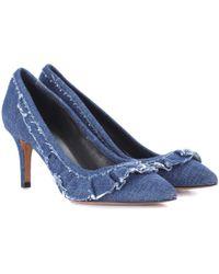 Isabel Marant   Poween Denim Court Shoes   Lyst