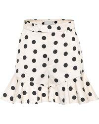 Johanna Ortiz - Exclusive To Mytheresa. Com – San Blas Polka-dot Cotton Shorts - Lyst