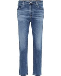 AG Jeans - The Isabelle Straight Jeans - Lyst