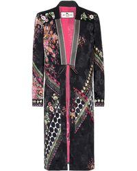 Etro - Printed Jacquard Silk-blend Jacket - Lyst