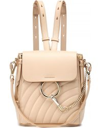 Chloé - Faye Quilted Leather Backpack - Lyst