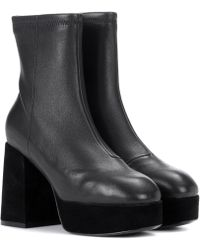 Opening Ceremony - Carmen Leather Ankle Boots - Lyst