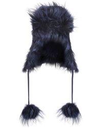 Fendi - Sombrero de pelo - Lyst