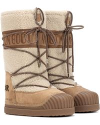Moncler - X Moon Boot ® Ankle Boots - Lyst