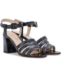 Maryam Nassir Zadeh - Palma High Patent Leather Sandals - Lyst