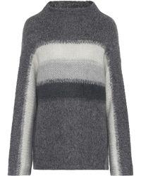 Rag & Bone - Wool And Alpaca Mockneck Sweater - Lyst