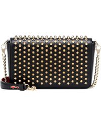 Christian Louboutin - Zoompouch Leather Shoulder Bag - Lyst