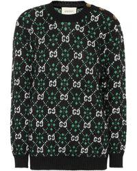 Gucci - Gg Alpaca And Wool Sweater - Lyst