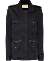 Velvet - Ruby Cotton Military Jacket - Lyst