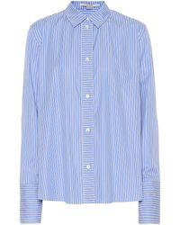 Stella McCartney - Striped Cotton Shirt - Lyst