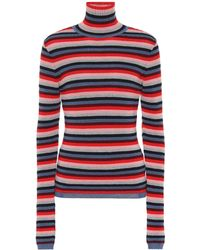 M.i.h Jeans - Striped Wool-blend Sweater - Lyst