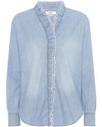 Étoile Isabel Marant - Lawendy Cotton Chambray Shirt - Lyst