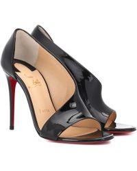 Christian Louboutin - Phoebe 100 Patent Heels - Lyst