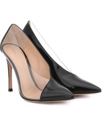 c9c6ba15e9 Gianvito Rossi - Deela Patent Leather Court Shoes - Lyst