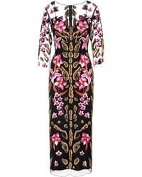 Temperley London - Pardus Embroidered Tulle Dress - Lyst