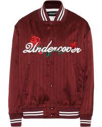 Undercover - Silk Bomber Jacket - Lyst