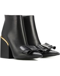 Marni - Leather Ankle Boots - Lyst