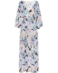 Melissa Odabash - Becky Printed Voile Maxi Dress - Lyst