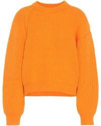 Acne Studios - Penina Cotton-blend Sweater - Lyst