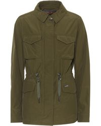 Woolrich - Atlantic Cotton-blend Jacket - Lyst