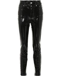 Unravel - Jeans skinny de vinilo de tiro alto - Lyst