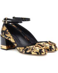Dolce & Gabbana - Devotion Brocade Pumps - Lyst