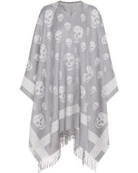 Alexander McQueen - Wool And Cashmere Scarf - Lyst