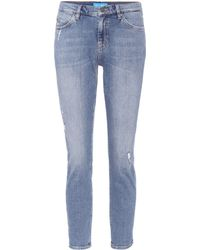 M.i.h Jeans - Tomboy Mid-rise Cropped Jeans - Lyst