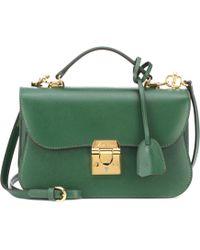 Mark Cross - Dorothy Leather Shoulder Bag - Lyst