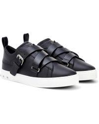 Valentino - Sneakers V-Punk aus Leder - Lyst