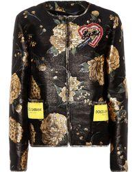 Dolce & Gabbana - Embellished Brocade Jacket - Lyst