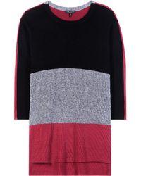 Rag & Bone - Jena Knitted Cotton Sweater - Lyst