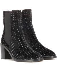 Jimmy Choo - Merril 65 Velvet Ankle Boots - Lyst