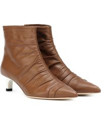 Rejina Pyo - Erin Leather Ankle Boot - Lyst
